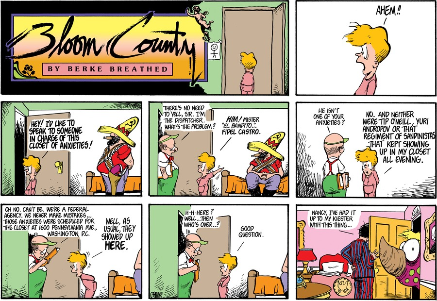 Bloom County by Berkeley Breathed for May 07, 2019