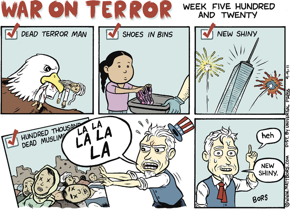 Matt Bors Comic Strip for September 09, 2011