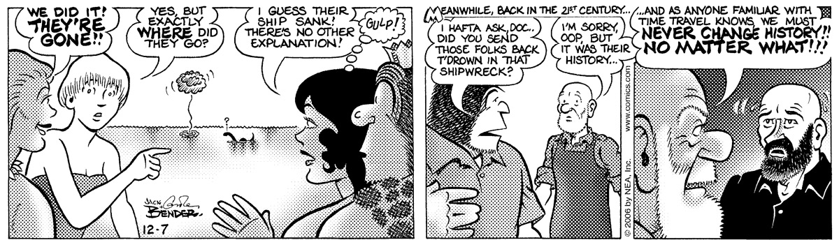 Alley Oop for Dec 7, 2006 Comic Strip