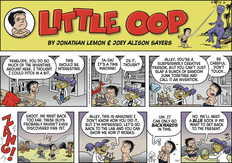 Alley Oop by Jonathan Lemon and Joey Alison Sayers on Sun, 03 Oct 2021