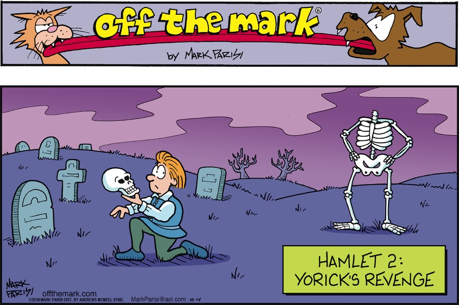 Off the Mark Comic Strip for October 14, 2018