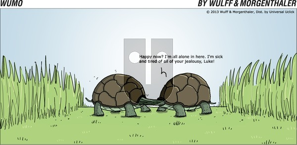 WuMo - Sunday October 13, 2013 Comic Strip