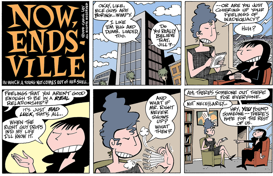 Lay Lines Comic Strip for February 04, 2015