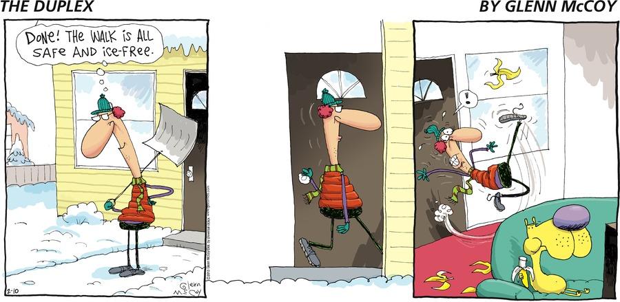 The Duplex for Feb 10, 2013 Comic Strip