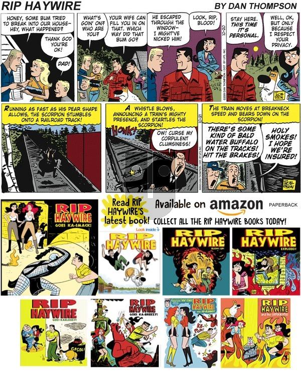 Rip Haywire on Sunday February 17, 2019 Comic Strip