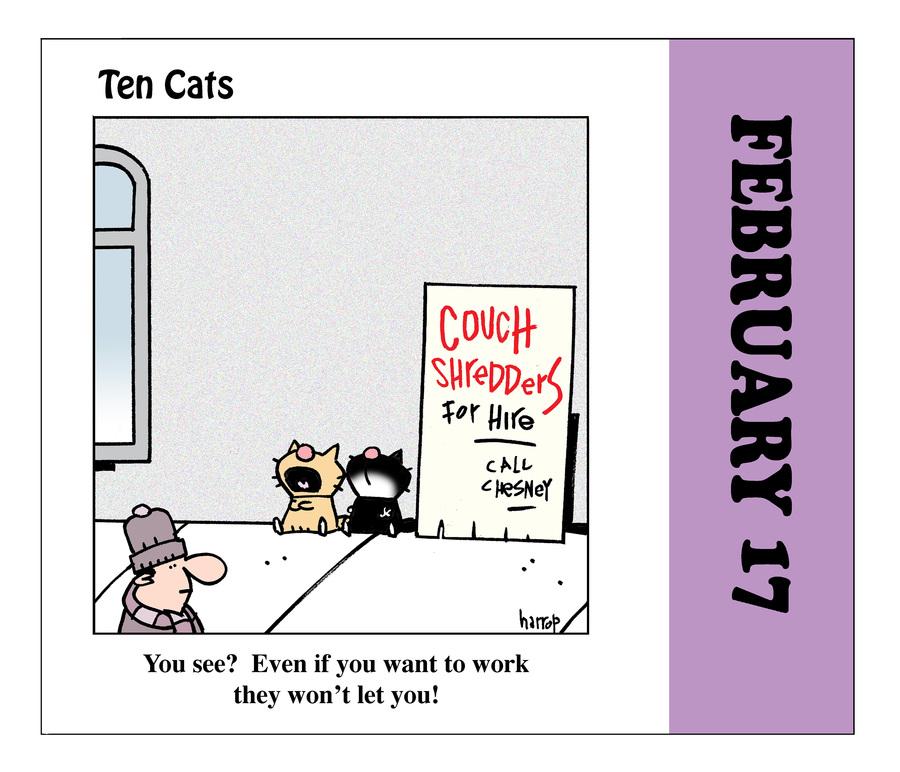 Ten Cats by Graham Harrop on Wed, 17 Feb 2021
