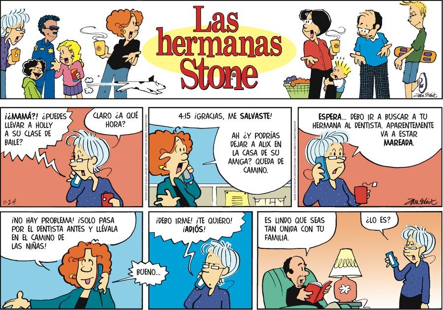 Las Hermanas Stone by Jan Eliot on Sun, 24 Nov 2019