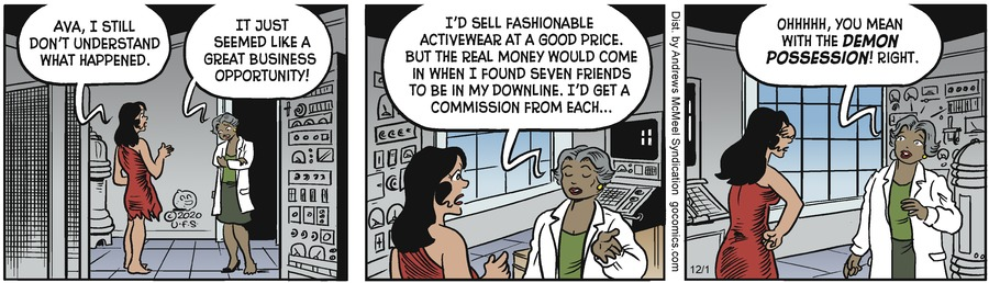 Alley Oop Comic Strip for December 01, 2020