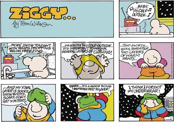 Ziggy on Sunday January 20, 2019 Comic Strip