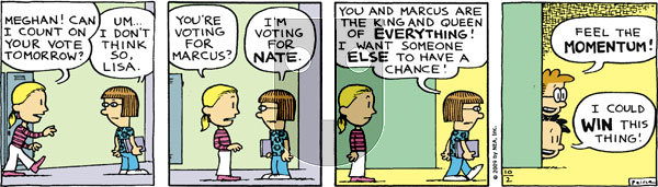 Big Nate on Friday October 2, 2009 Comic Strip