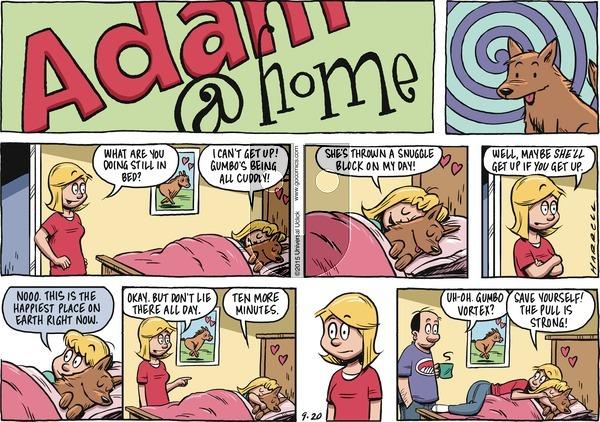 Adam@Home on Sunday September 20, 2015 Comic Strip