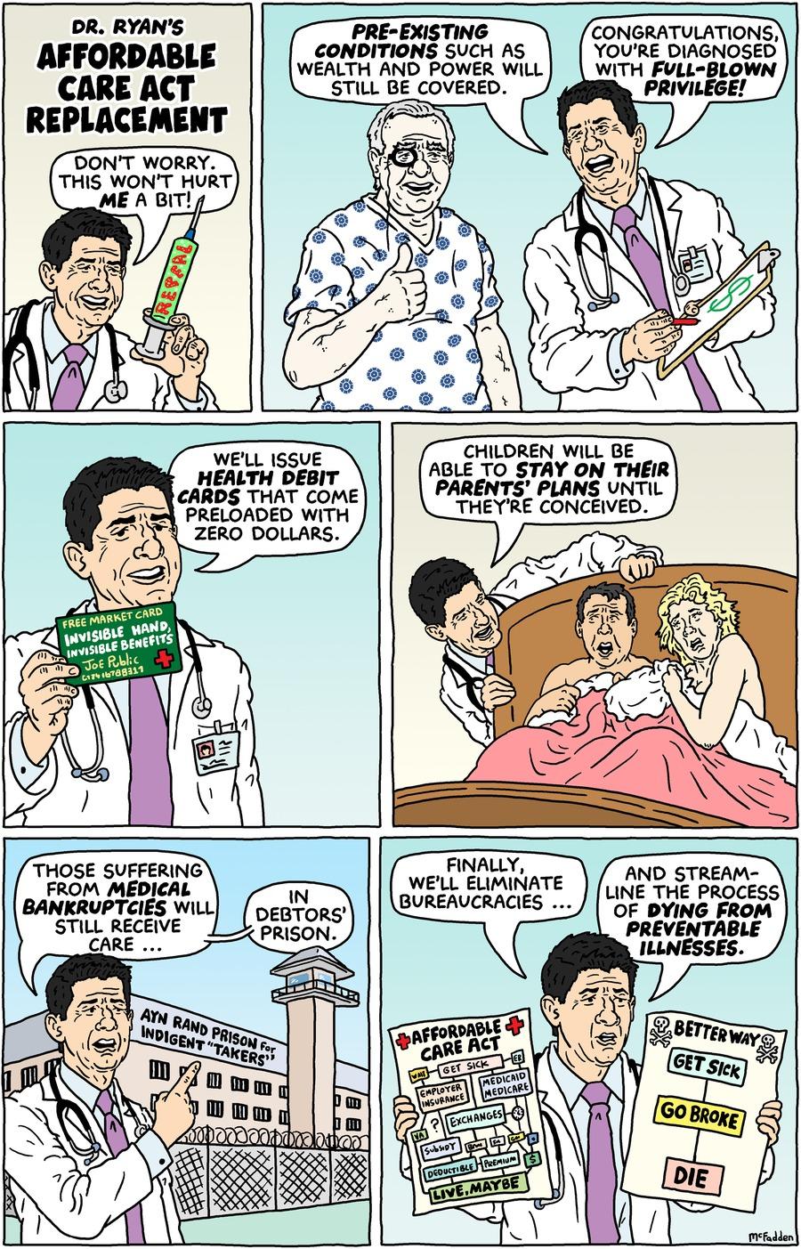 Brian McFadden Comic Strip for January 22, 2017
