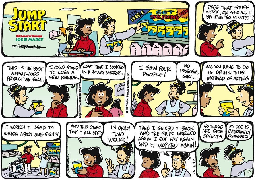 JumpStart for Oct 5, 1997 Comic Strip