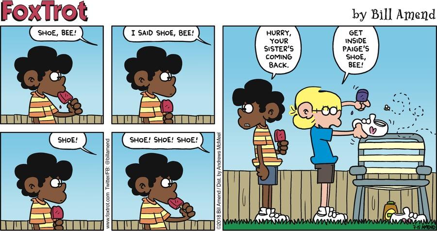 FoxTrot Comic Strip for July 15, 2018