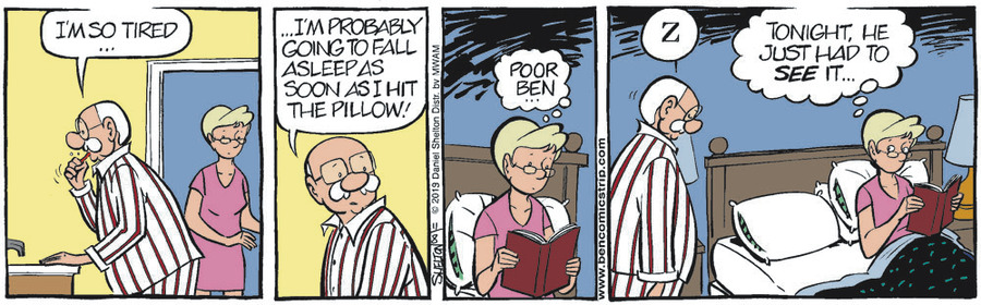 Ben Comic Strip for November 08, 2019