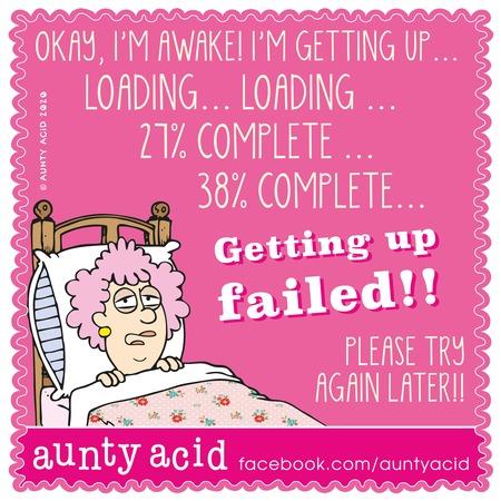 Aunty Acid Comic Strip for October 25, 2020