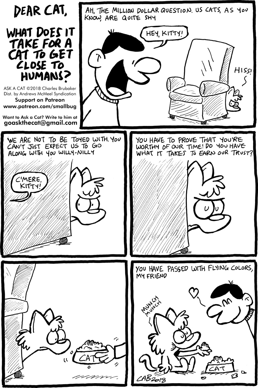 Ask a Cat Comic Strip for January 10, 2021