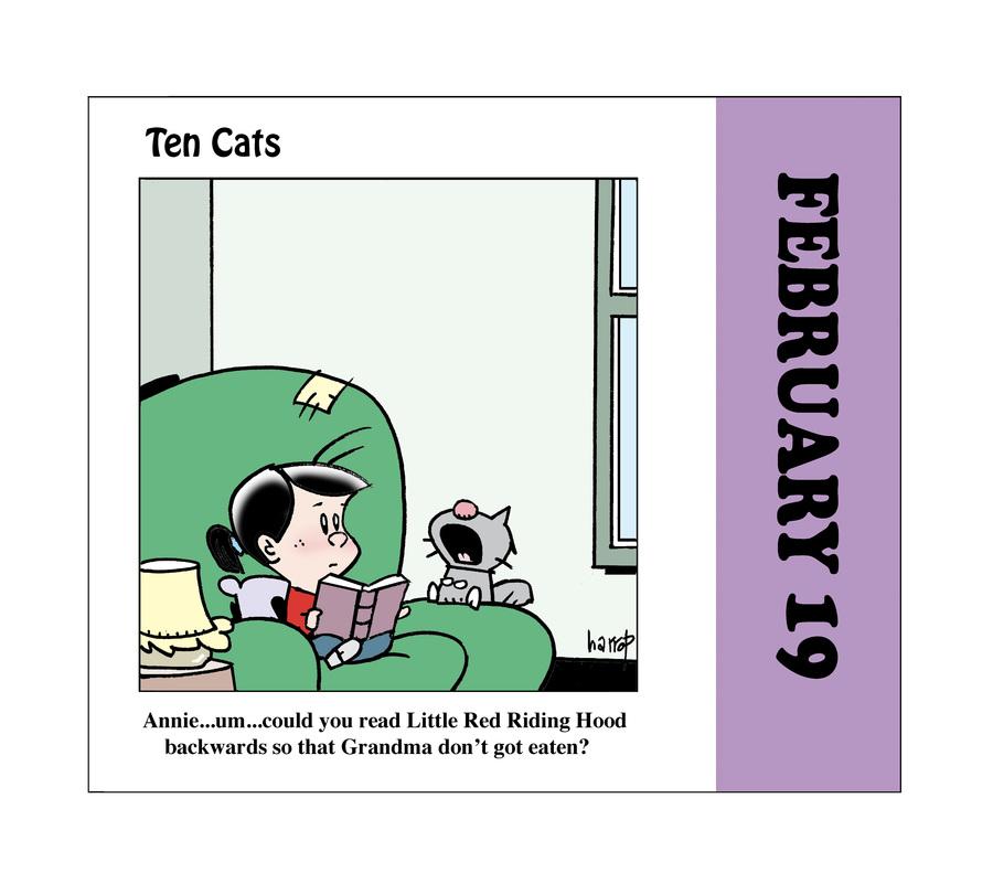Ten Cats by Graham Harrop on Fri, 19 Feb 2021