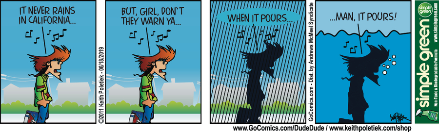 Dude and Dude Comic Strip for June 18, 2019