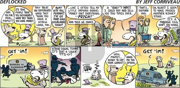 DeFlocked on Sunday August 26, 2012 Comic Strip