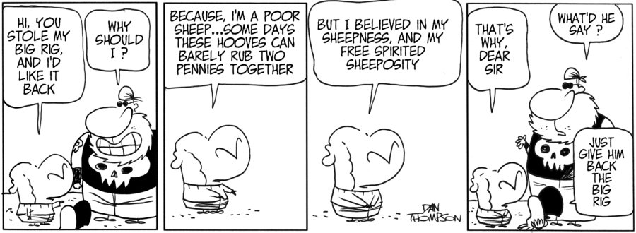 Lost Sheep Comic Strip for June 12, 2019