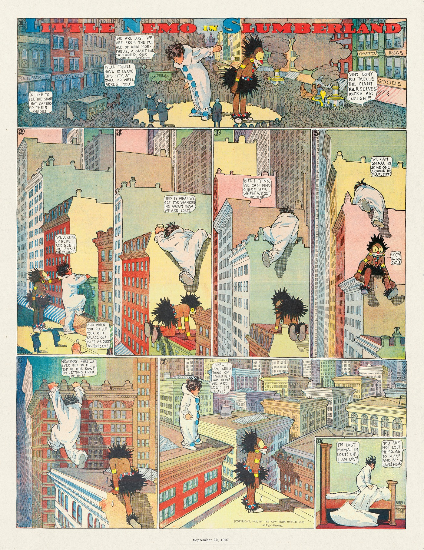 Little Nemo by Winsor McCay on Thu, 30 Jul 2020