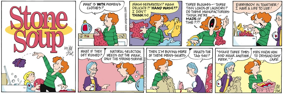 Stone Soup Classics Comic Strip for July 04, 2021