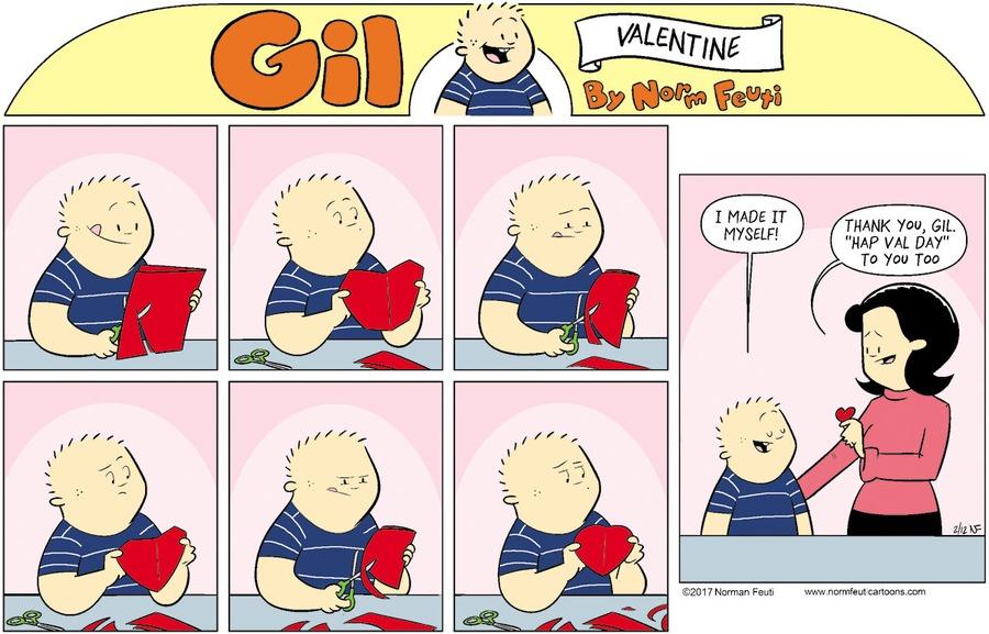 Gil Comic Strip for February 14, 2021