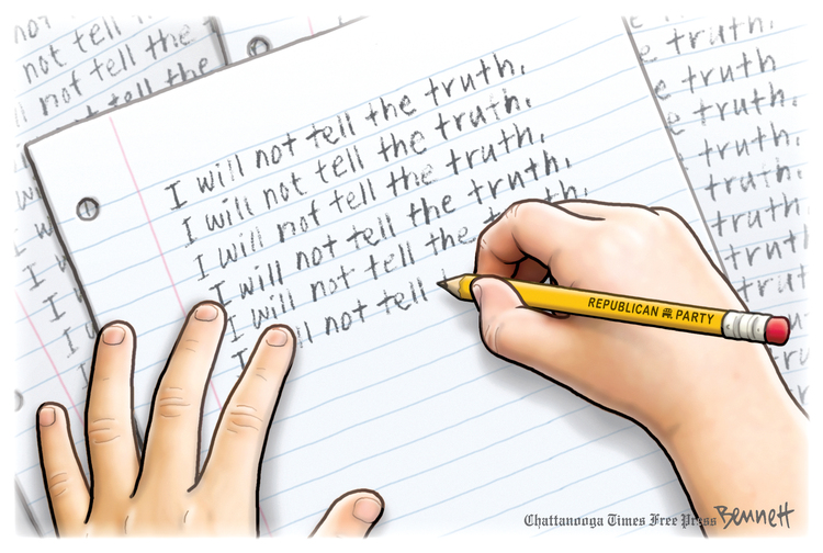 Clay Bennett by Clay Bennett on Tue, 11 May 2021