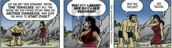 Alley Oop - Saturday January 12, 2019 Comic Strip