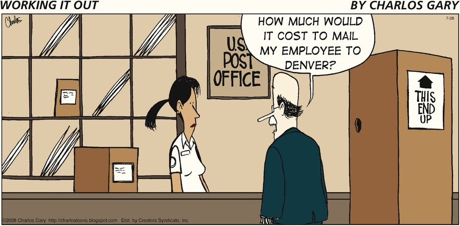 Working It Out for Jul 28, 2013 Comic Strip