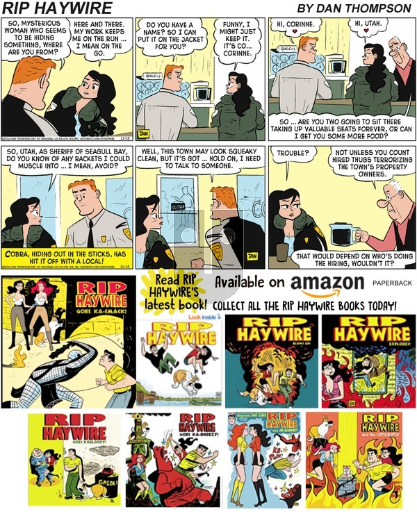 Rip Haywire on Sunday December 22, 2019 Comic Strip