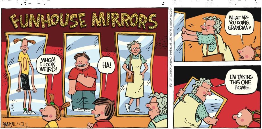 Mt. Pleasant  Comic Strip for August 01, 2021