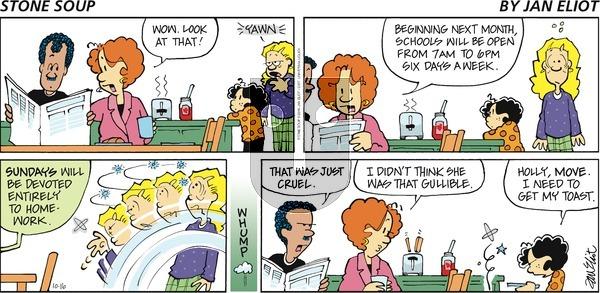 Stone Soup on Sunday October 16, 2016 Comic Strip