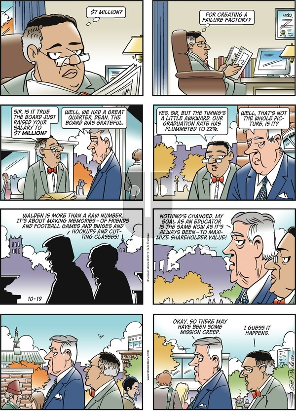 Doonesbury on Sunday October 19, 2014 Comic Strip
