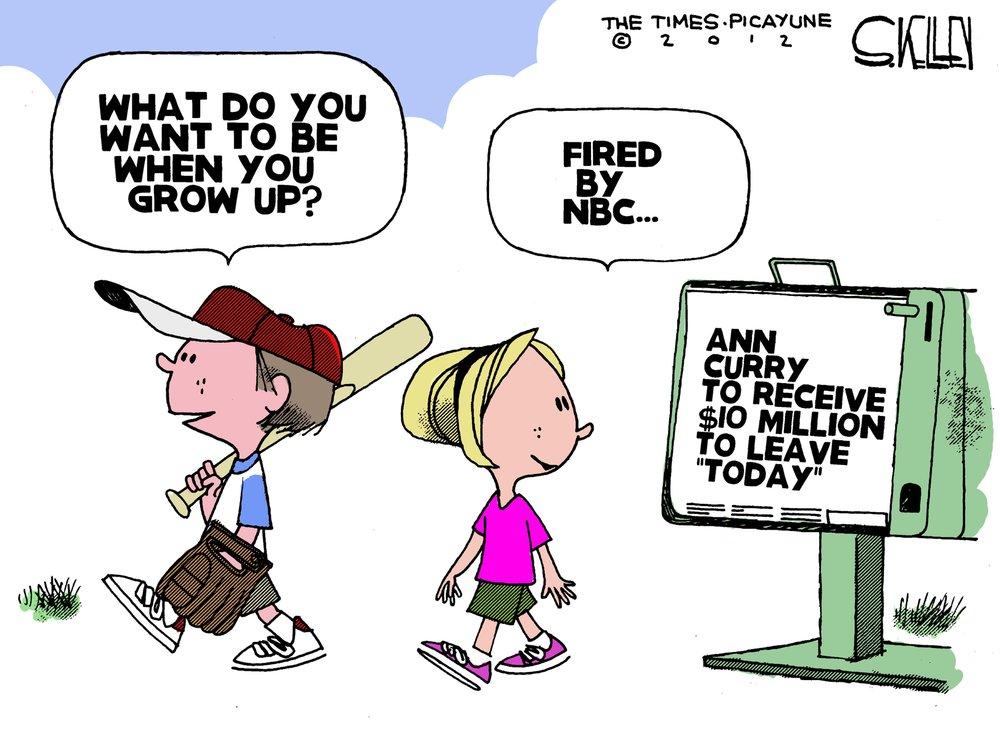 Steve Kelley Comic Strip for June 27, 2012