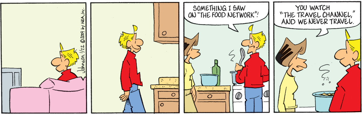 Arlo and Janis Comic Strip for January 22, 2009