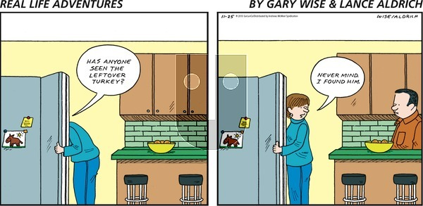 Real Life Adventures on Sunday November 25, 2018 Comic Strip