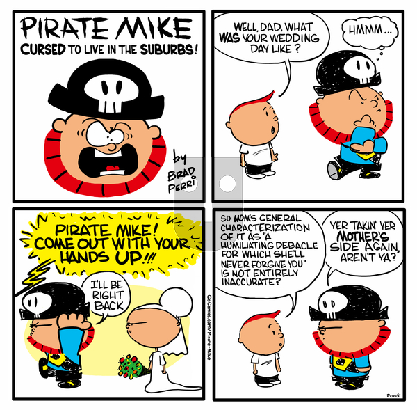 Pirate Mike on Wednesday May 20, 2020 Comic Strip