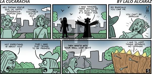 La Cucaracha - Sunday October 13, 2019 Comic Strip