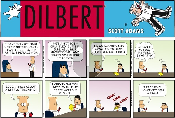 Dilbert - Sunday January 15, 2006 Comic Strip