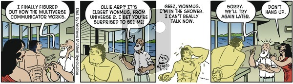 Alley Oop - Monday June 8, 2020 Comic Strip