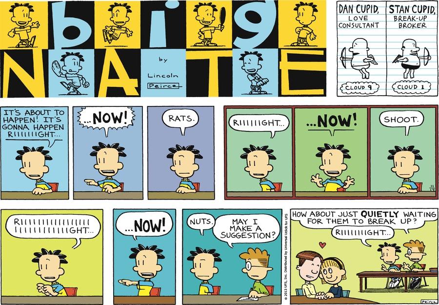 Big Nate Comic Strip for November 17, 2013