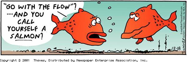 Frank and Ernest Comic Strip for December 18, 2001