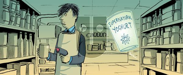 Berger & Wyse - Thursday January 30, 2014 Comic Strip