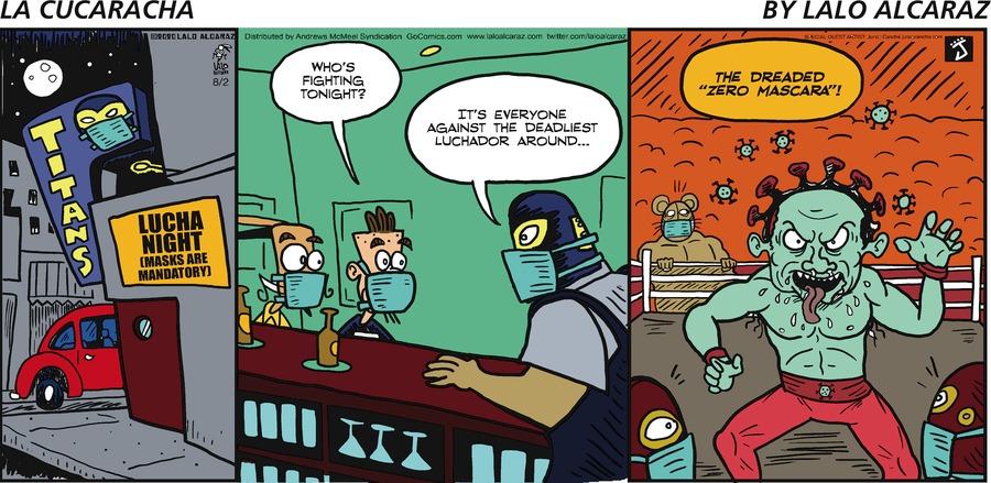 La Cucaracha Comic Strip for August 02, 2020