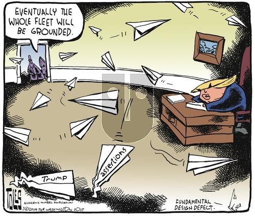 Tom Toles on Sunday March 17, 2019 Comic Strip