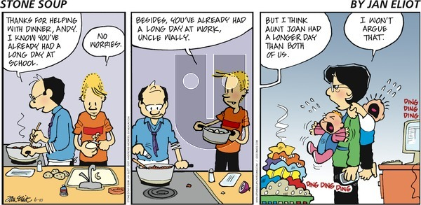 Stone Soup on Sunday June 10, 2018 Comic Strip
