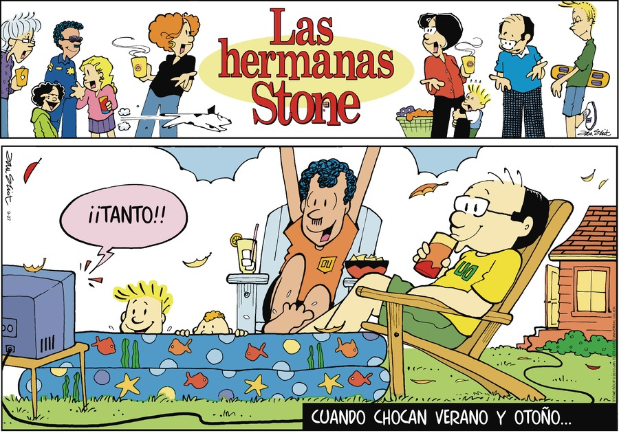 Las Hermanas Stone Comic Strip for September 27, 2020