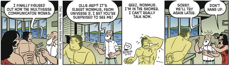 Alley Oop Comic Strip for June 08, 2020